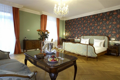 Junior Suite в отеле Bad Hotel zum Hirsch